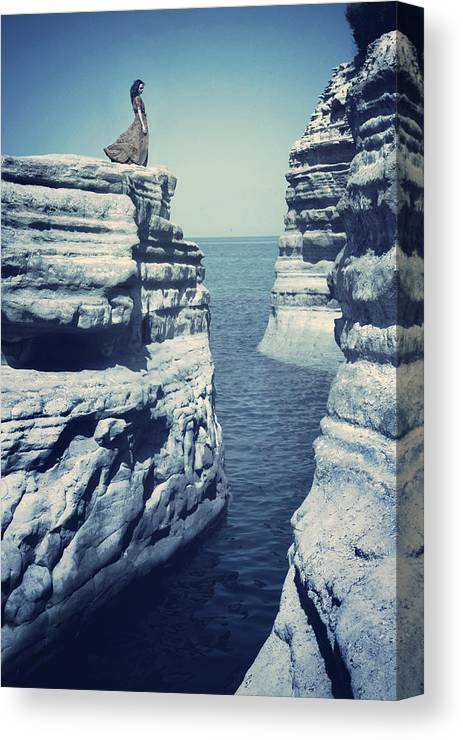 Corfu Canvas Print featuring the photograph Corfu by Cambion Art