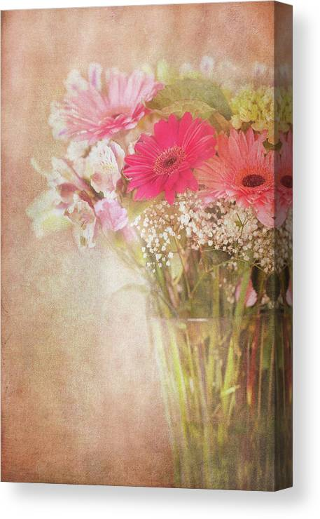 Florals Canvas Print featuring the photograph Endearing by Beve Brown-Clark Photography