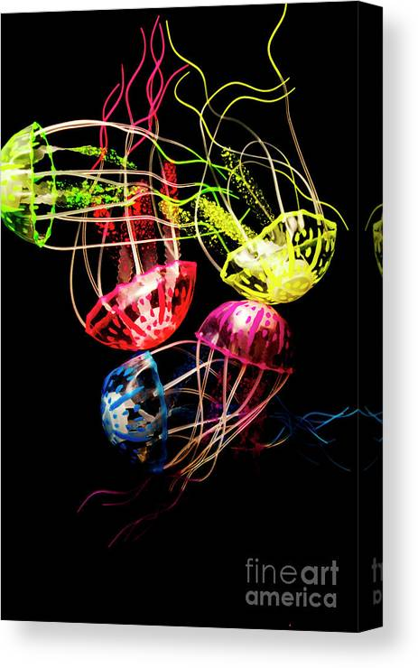 Ocean Canvas Print featuring the photograph Entwined In Interconnectivity by Jorgo Photography - Wall Art Gallery