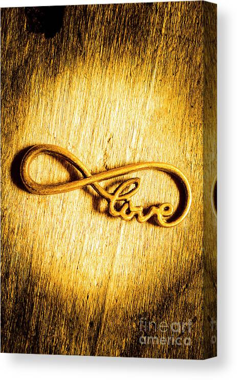 Infinity Canvas Print featuring the photograph Forever Love by Jorgo Photography - Wall Art Gallery