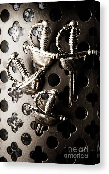 Crusades Canvas Print featuring the photograph Gate Keeping The Knights Templar by Jorgo Photography - Wall Art Gallery