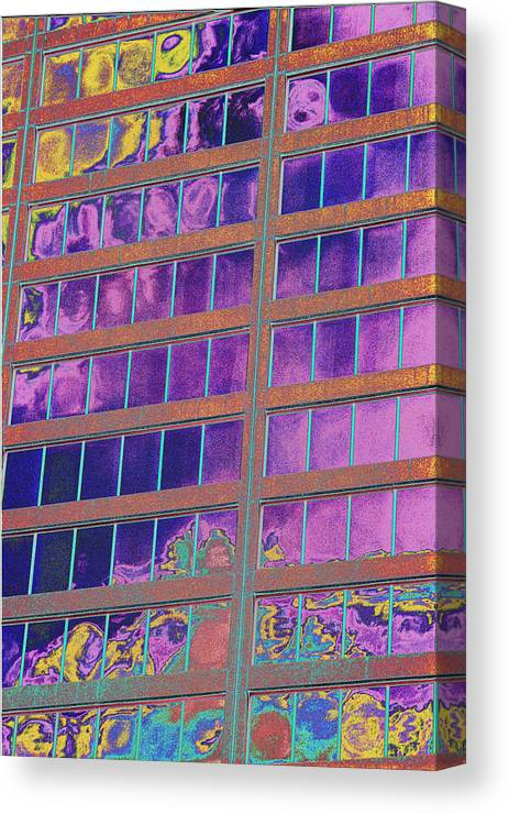 Psychedelic Canvas Print featuring the photograph High Roller Suites At The Flamingo Hotel by Richard Henne