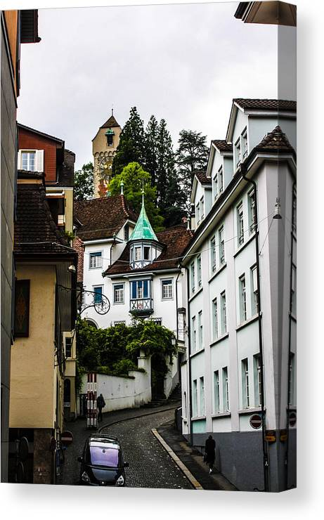 Switzerland Canvas Print featuring the photograph In Lucerne by Nicholas Snyder