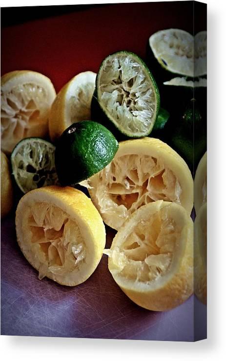 Fruit Canvas Print featuring the photograph Juiced by Robert P Meyer Jr