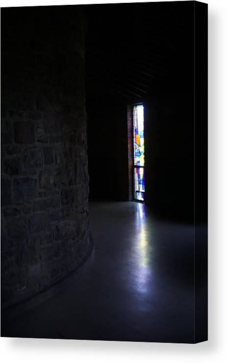 Christian Canvas Print featuring the photograph Monastic Entrance by Lawrence Nunziato
