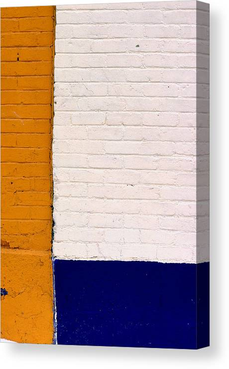 Montreal Canvas Print featuring the photograph Montreal Ochre by Art Ferrier