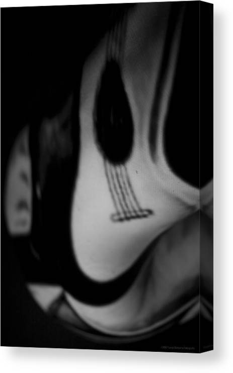 Nude Canvas Print featuring the photograph Musical Soul by Luigi Barbano BARBANO LLC