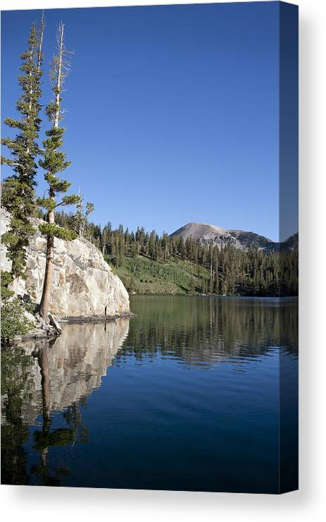 Water Canvas Print featuring the photograph Peaceful by Kelley King
