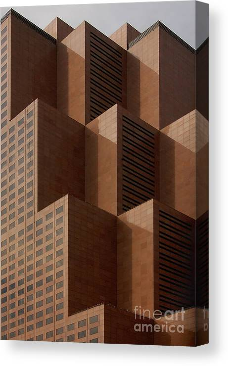 Architecture Canvas Print featuring the photograph Peaks by David Smith