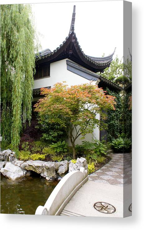 Garden Canvas Print featuring the photograph Portland by Sonja Anderson