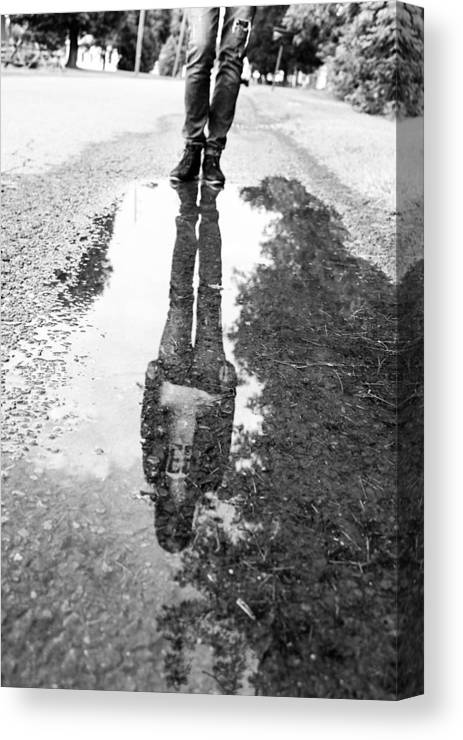 Water Canvas Print featuring the photograph Reflection by Reese Wallace