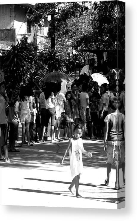 Photographer Canvas Print featuring the photograph Rice Day by Jez C Self