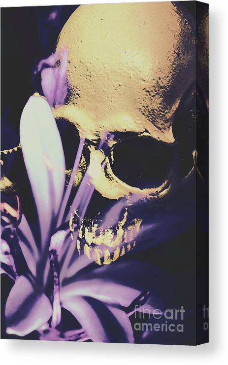 Death Canvas Print featuring the photograph The Wilted Weather Underground by Jorgo Photography - Wall Art Gallery