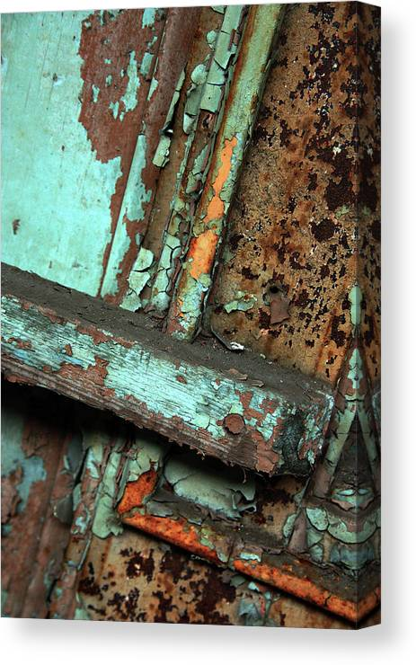 In Focus Canvas Print featuring the photograph Urban Abstract by Joanne Coyle