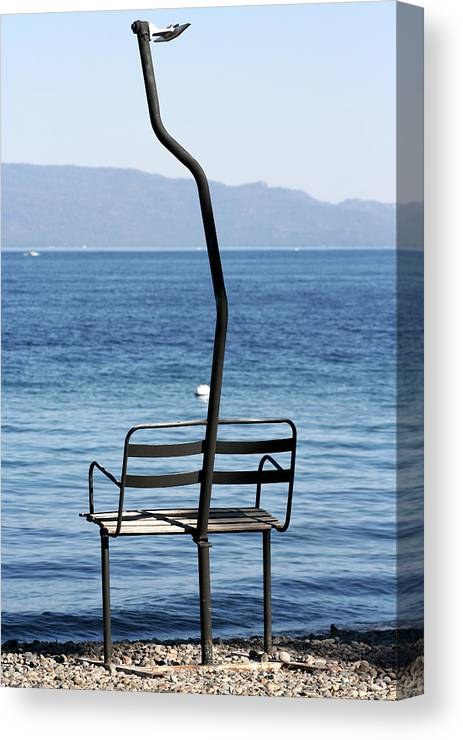 Lake Tahoe Canvas Print featuring the photograph Waiting For Snow by Melanie Rainey