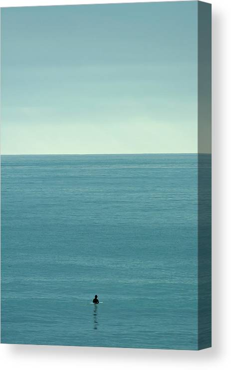 California Canvas Print featuring the photograph Waiting by Peter Tellone