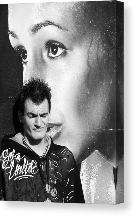 Photographer Canvas Print featuring the photograph Watching Over You Craig 2 by Jez C Self