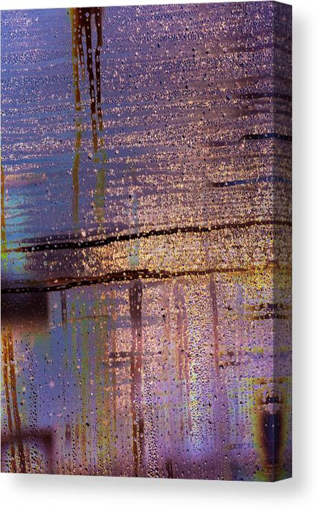 Intentional Camera Movement Canvas Print featuring the photograph Whizz Bang by Deborah Hughes
