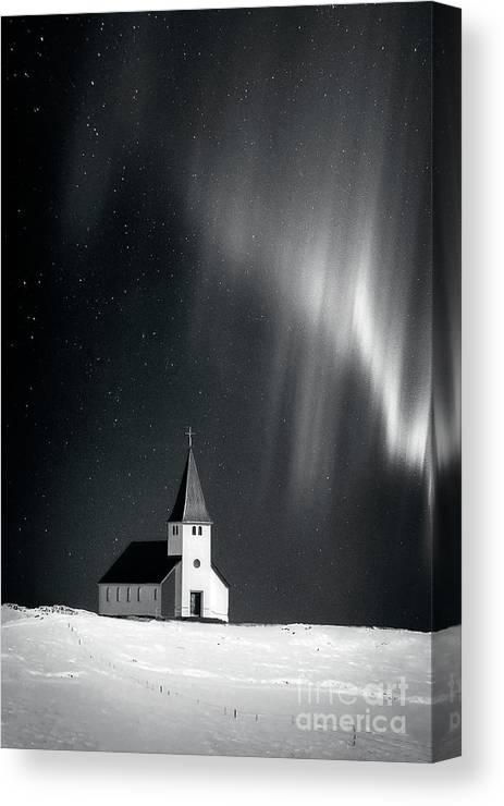 Kremsdorf Canvas Print featuring the photograph Heaven's Light by Evelina Kremsdorf