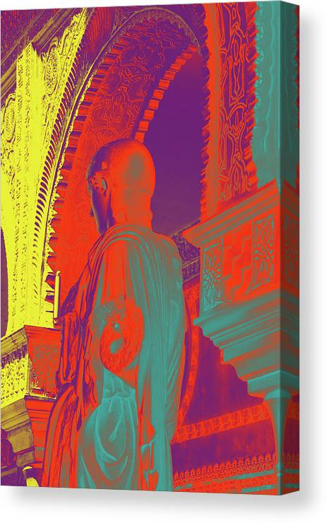 Color Canvas Print featuring the mixed media True Colors by Giorgio Tuscani