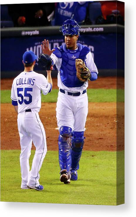 Salvador Perez Diaz Canvas Print featuring the photograph Salvador Perez by Dilip Vishwanat