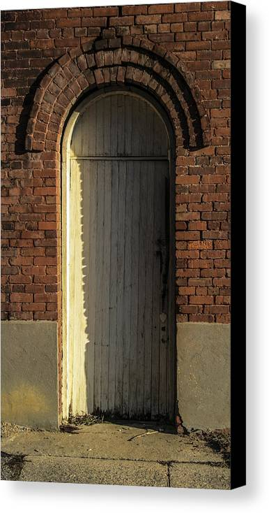 White Canvas Print featuring the photograph Can I Come In by Steven Taylor