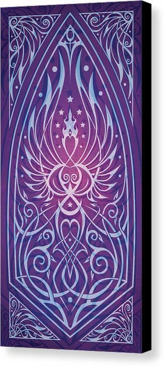 Feminine Canvas Print featuring the digital art Sacred Feminine by Cristina McAllister