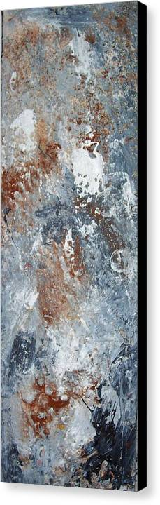 Acrylix Canvas Print featuring the painting Untitled by Elizabeth Klecker