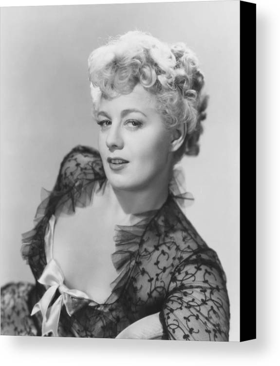 1950 Movies Canvas Print featuring the photograph Frenchie, Shelley Winters, 1950 by Everett