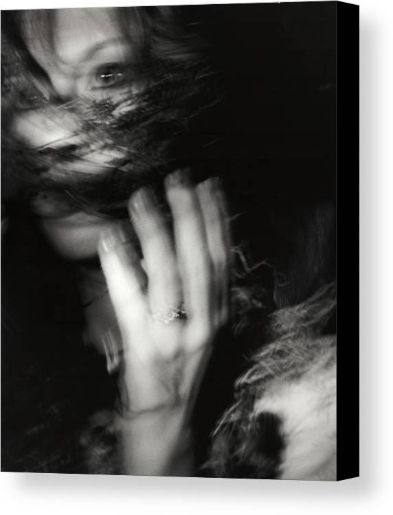 Photography Canvas Print featuring the photograph Intention by Laura Stretz