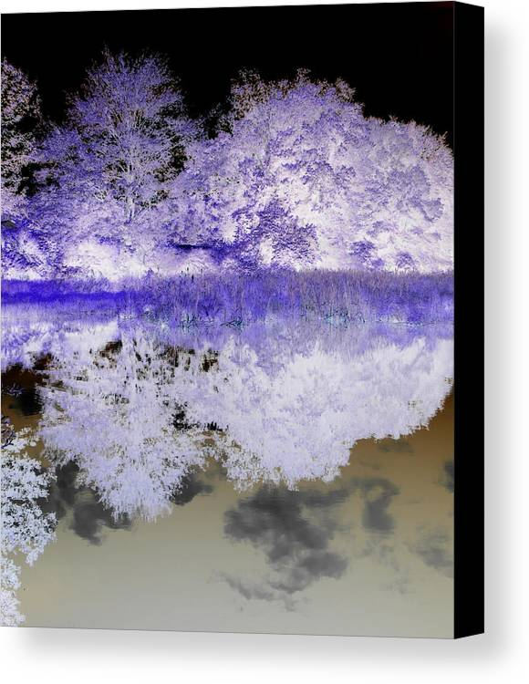 Abstract Photography Canvas Print featuring the photograph Reflective Abstracts by Kim Galluzzo Wozniak