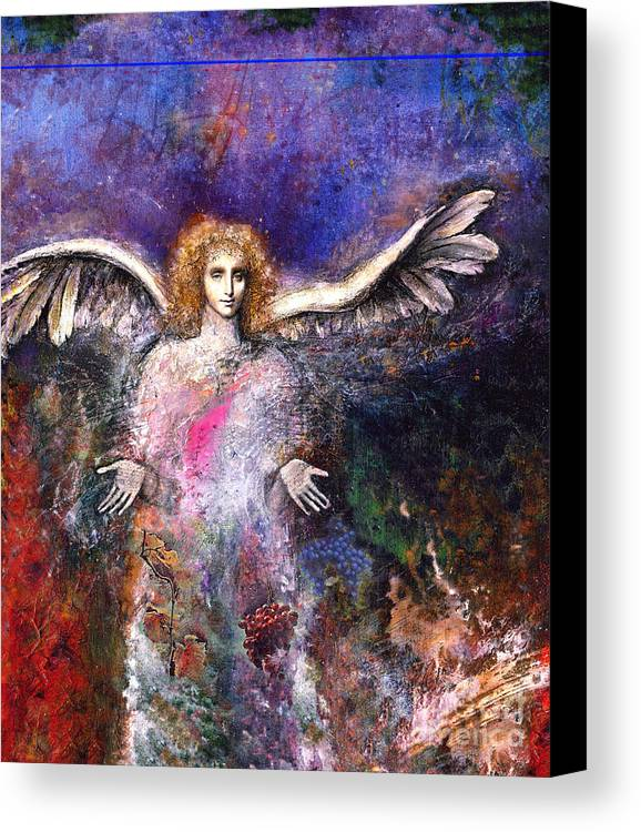 Angel Canvas Print featuring the painting Emergence by Marne Adler