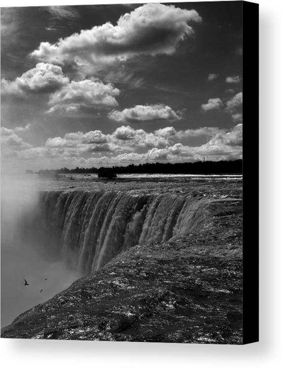 Niagara Falls Canvas Print featuring the photograph Niagara Falls by Adam Orzechowski