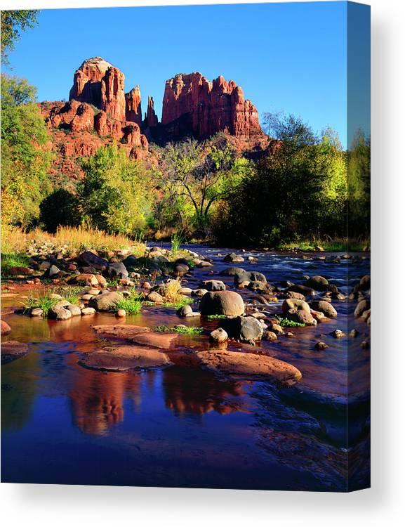 America Canvas Print featuring the photograph Usa, Arizona, Sedona by Jaynes Gallery
