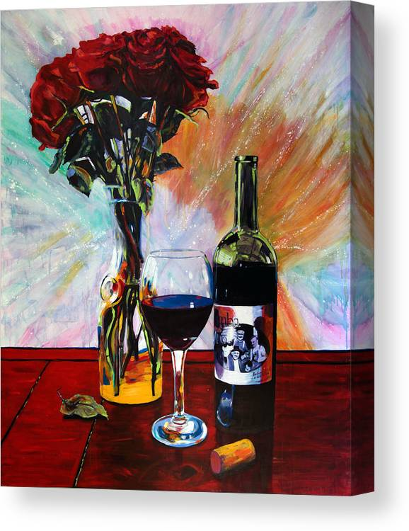 Wine and Roses by Steve Gamba