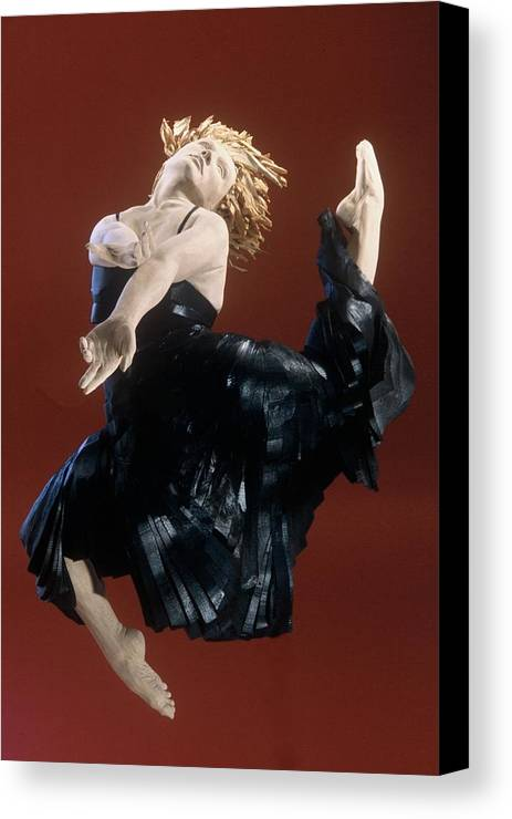 Dance Canvas Print featuring the sculpture Persephones Dance Front View by Gordon Becker