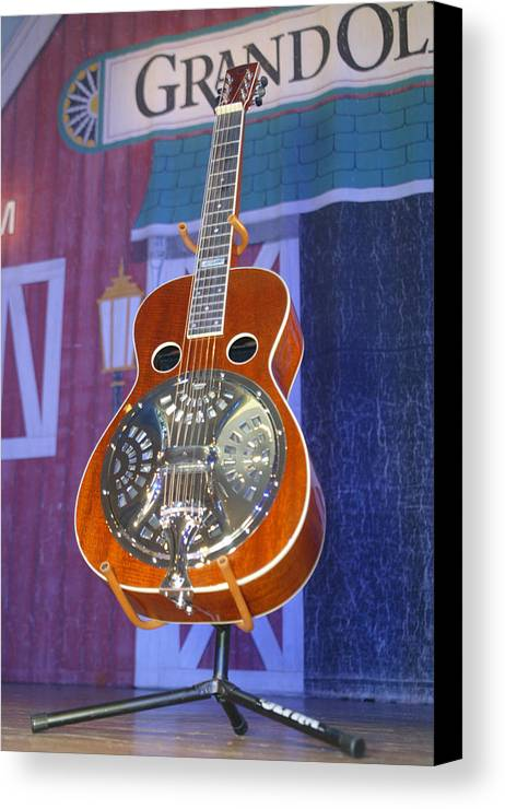 Ryman Auditorium Canvas Print featuring the photograph Inside The Ryman by Don Olea