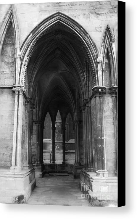 Lincoln Canvas Print featuring the photograph Lincoln Cathedral by George Barker