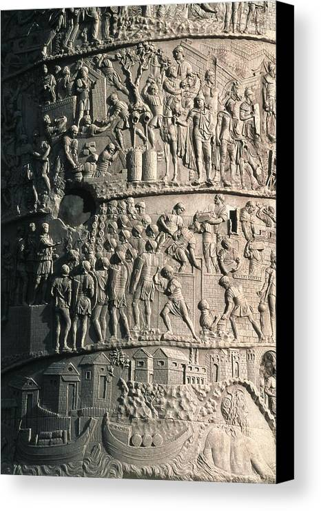 Vertical Canvas Print featuring the photograph Apollodorus Of Damascus 60-129. Column by Everett