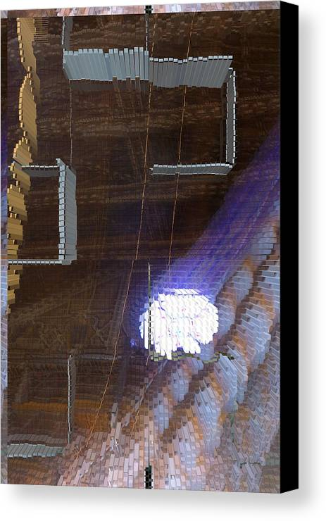 Special Effect Canvas Print featuring the photograph Gothic Art - Five by Gregory Lafferty
