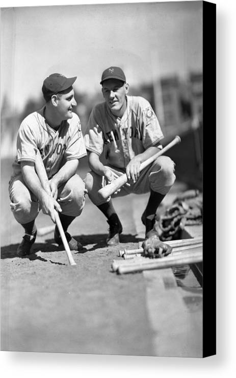 George Canvas Print featuring the photograph New York Yankees by Retro Images Archive