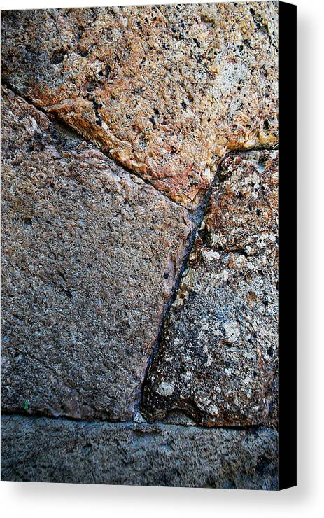 Becky Furgason Canvas Print featuring the photograph #millstone by Becky Furgason