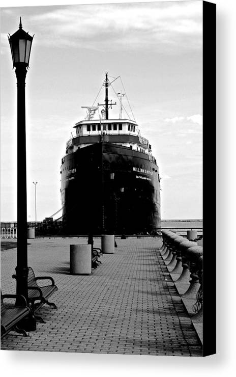Ship Canvas Print featuring the photograph Postcard Perfect by Frozen in Time Fine Art Photography