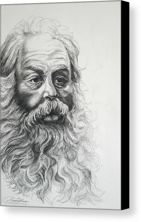 Christmas Canvas Print featuring the drawing Saint Nicholas Of Compassion by Craig Gallaway