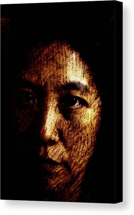 Ageless Canvas Print featuring the painting Ageless by Christopher Gaston