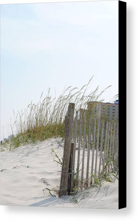 Beach Canvas Print featuring the photograph Gentle Breeze by Kurt Schmitt