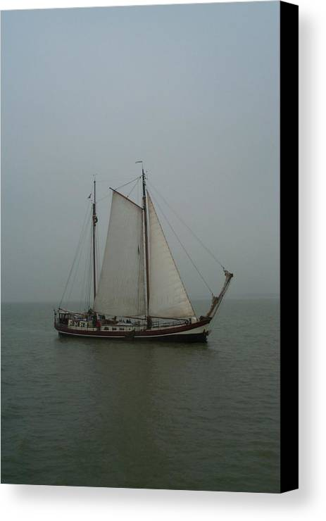 Sailing Canvas Print featuring the photograph Set Sail by Christina Netherlands