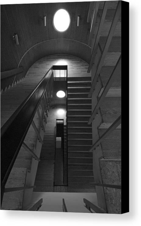 Oculus Canvas Print featuring the photograph Oculus by Robert Ponzoni