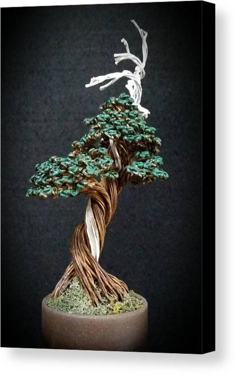 132 Shimpaku Wire Tree Sculpture Canvas Print / Canvas Art by Ricks ...
