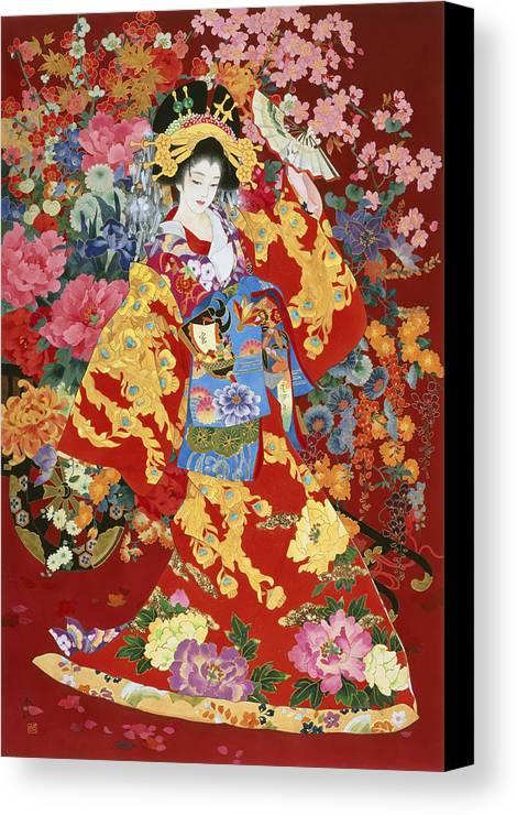 Haruyo Morita Canvas Print featuring the photograph Agemaki by Haruyo Morita